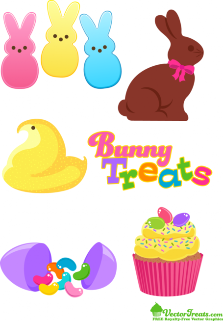 Free Easter Candy Clipart and Vector Graphics.