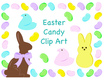 Easter Candy Clip Art.