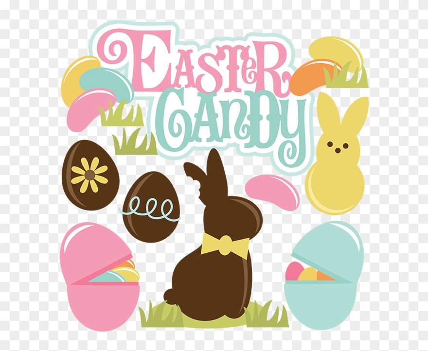 Easter Candy Svg Files For Cutting Machines Easter.