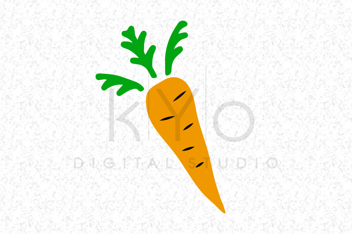 Carrot SVG DXF PNG EPS Clipart file Happy Easter svg Bunny Rabbit svg files.