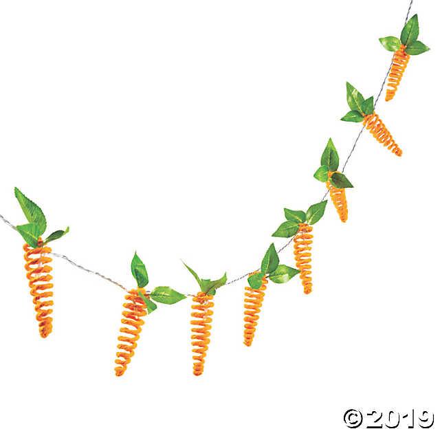 Easter Carrot String Lights.