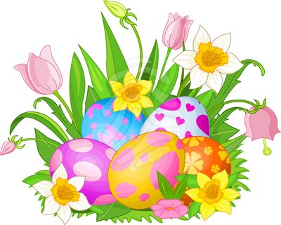 Easter Celebration Clip Art.