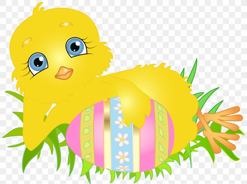 Easter Bunny Chicken Clip Art, PNG, 8000x5974px, Easter.