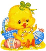 Free Easter Chicks Graphics.