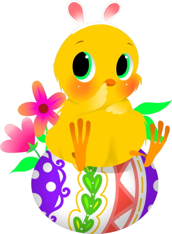 Showing post & media for Easter chick clip art cartoon.