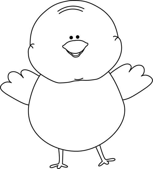 Easter Chick Clip Art.