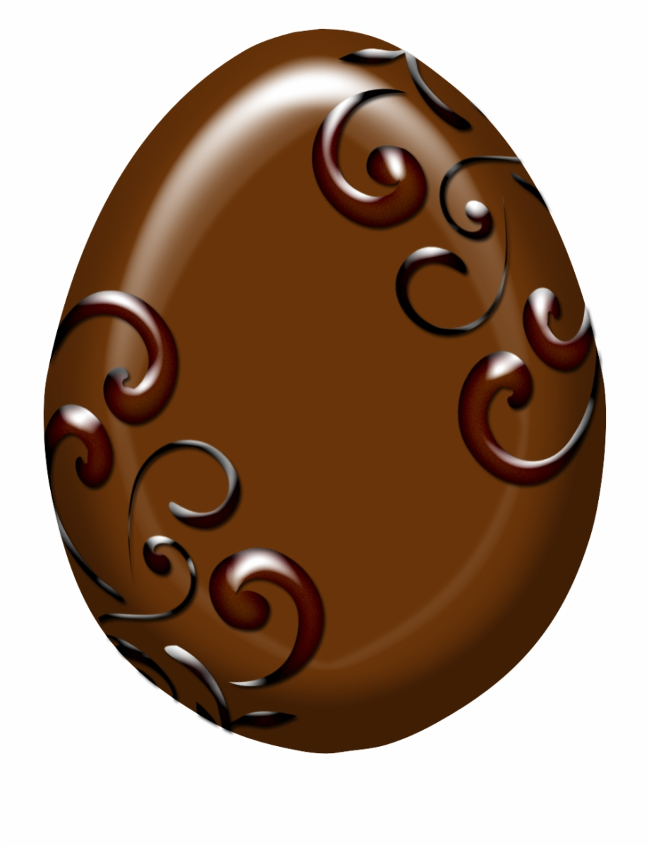 Chocolate Easter Eggs Png.