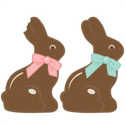Easter clip art chocolate.
