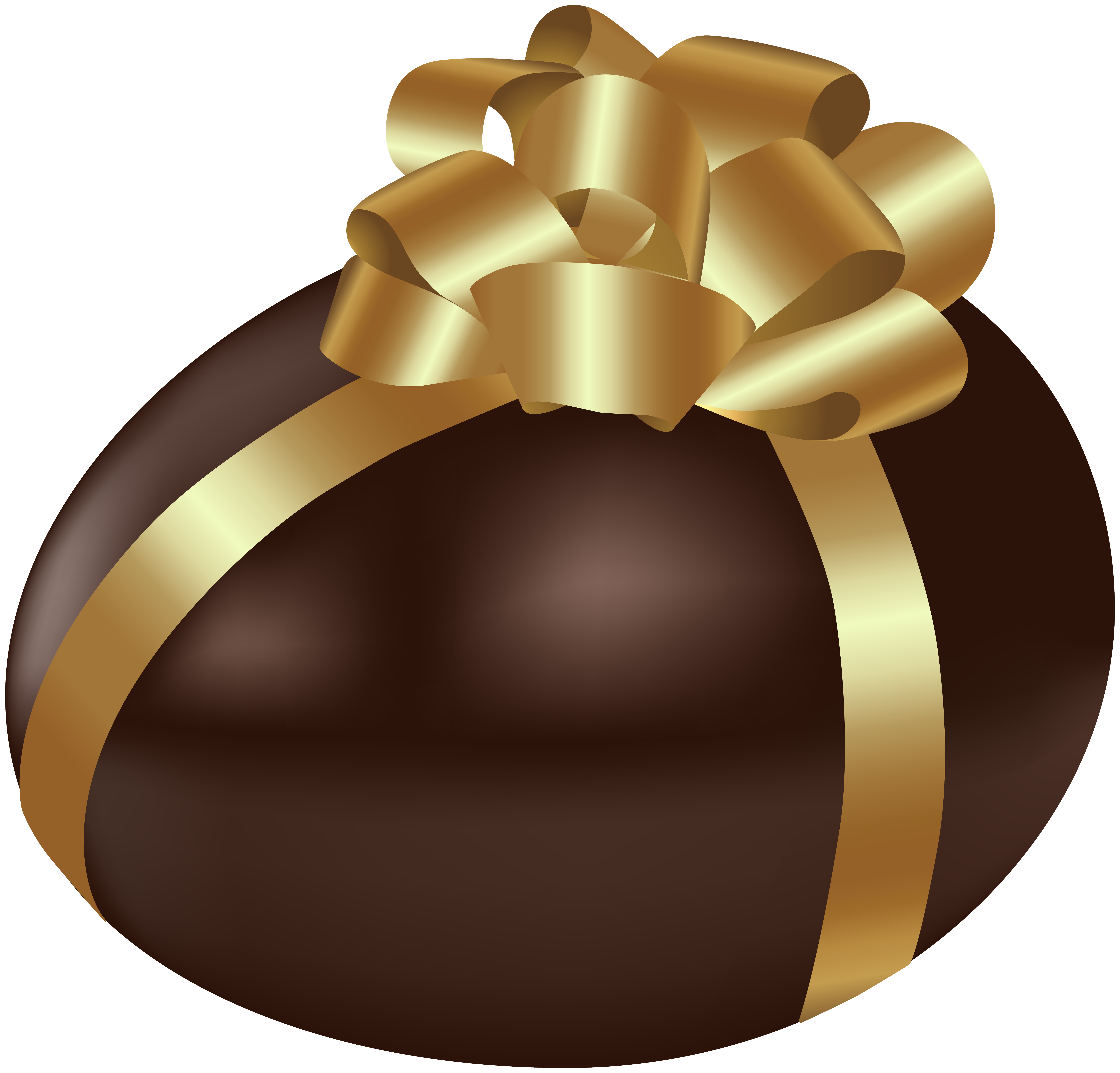 Easter Chocolate Egg Transparent PNG Clip Art.