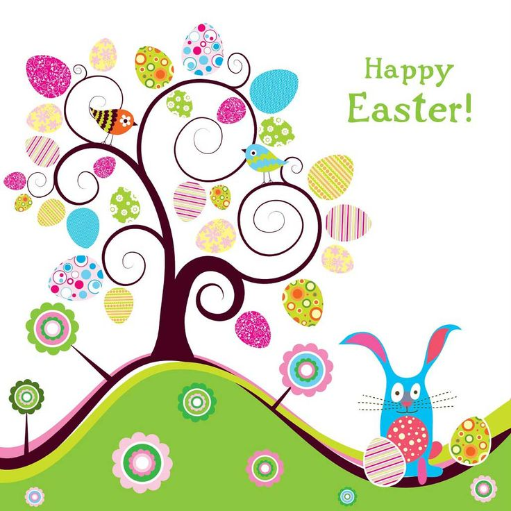 Free Happy Easter Clipart.