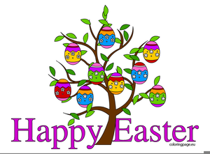 Happy Easter Clipart.