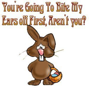 Funny Easter Clipart.