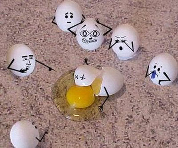 Funny Easter Clip Art.
