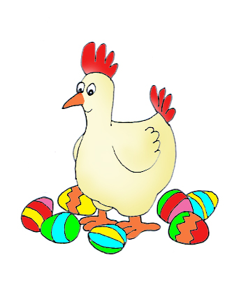 Funny and Cute Easter Clip Art.