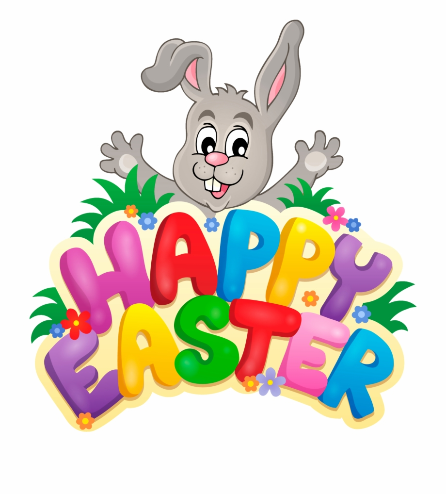 Happy Easter Clipart Free PNG Images & Clipart Download #455001.