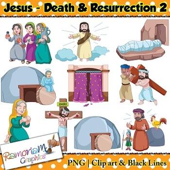 Jesus Easter Clip Art & Worksheets.