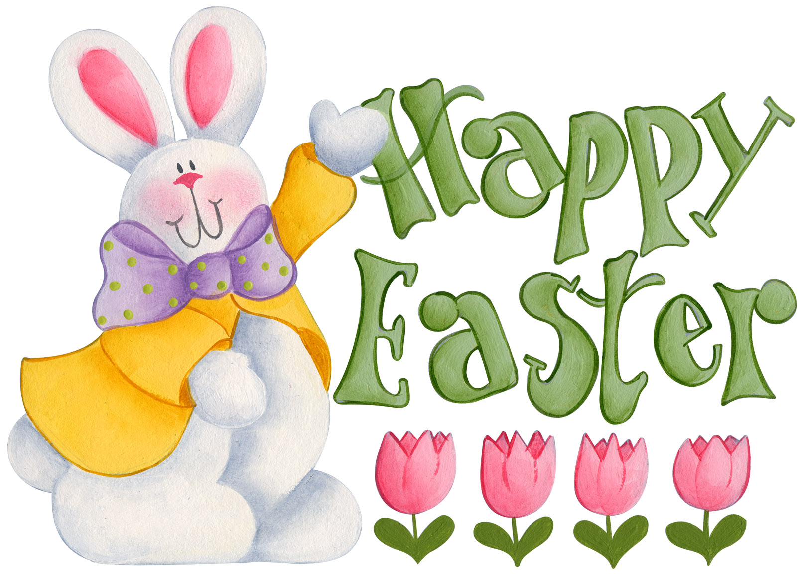 Happy easter clipart #5