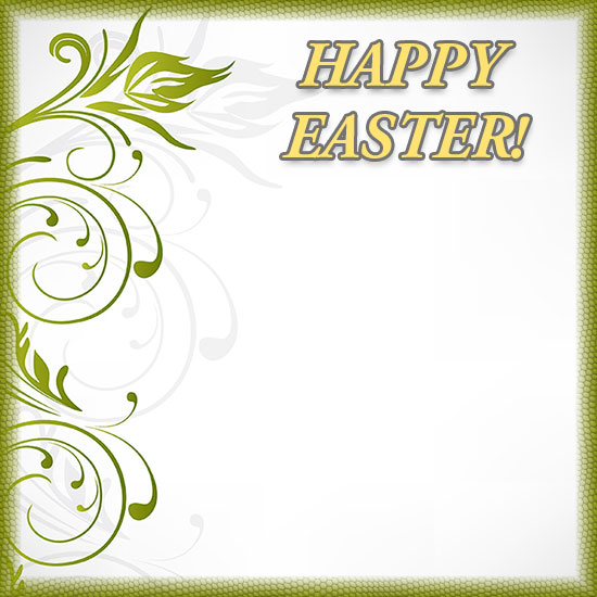 easter clipart flower borders clipground