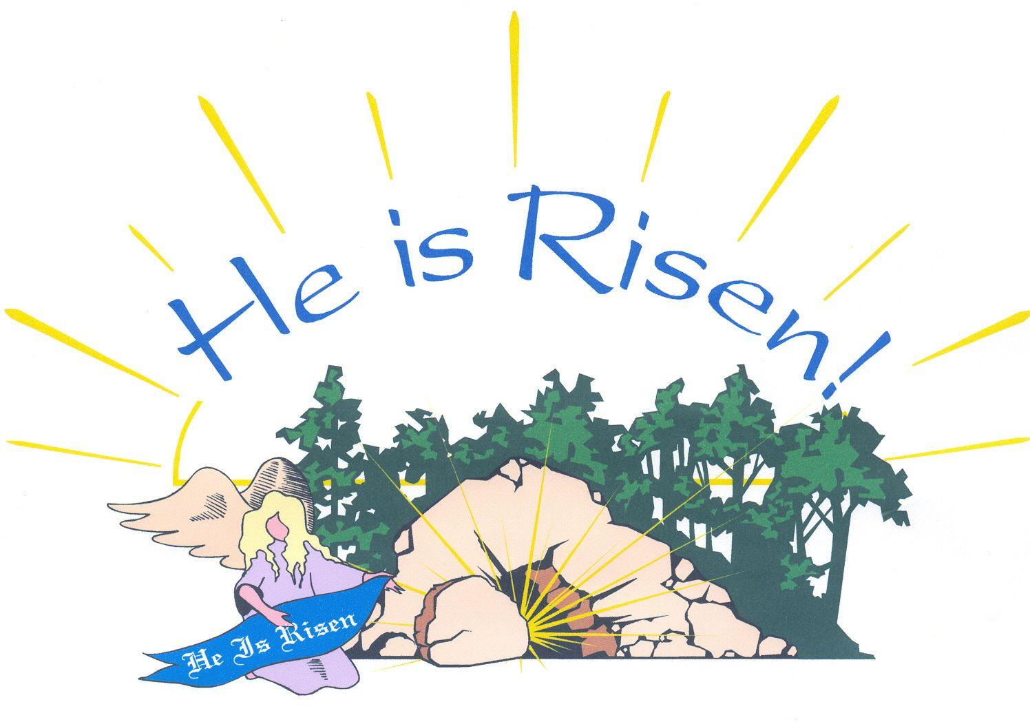 Jesus is Risen.