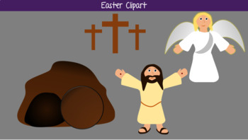 Easter Jesus Resurrection Clipart by Teaching Diligently.