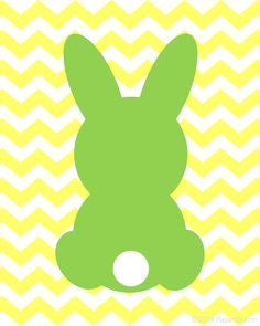 Easter Bunny Clipart Silhouette.