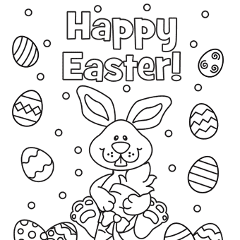 Easter Coloring Pages, Free Easter Coloring Pages for Kids.
