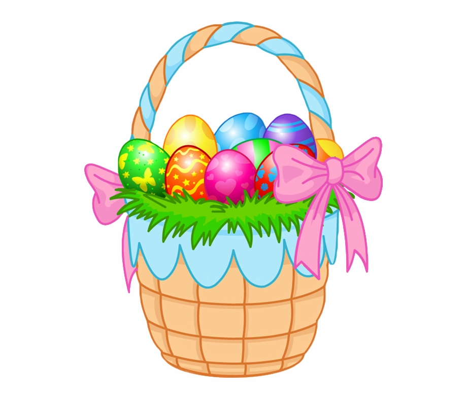 Easter Transparent Background.