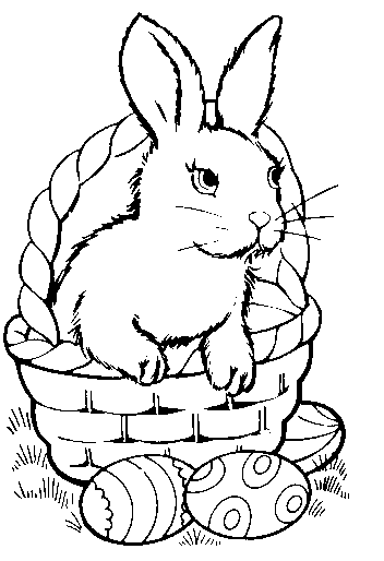 Cute colors easter clipart.
