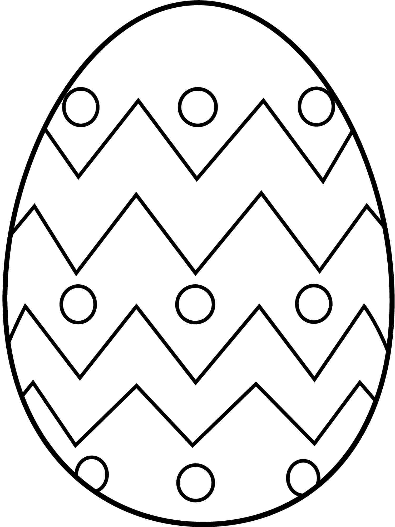 Easter color clipart #5