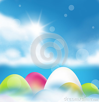 Easter Sunshine Royalty Free Stock Photography.