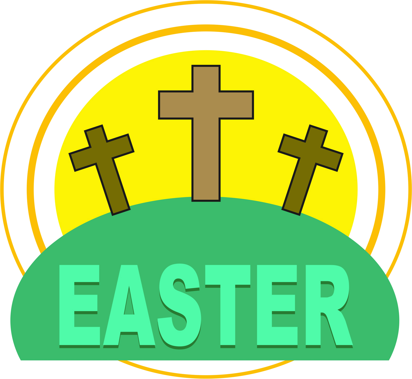Free photo: Easter Cross Clipart.