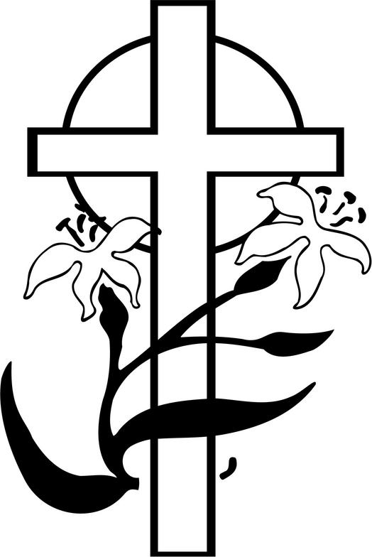 Cross black and white easter cross clipart black and white 2.