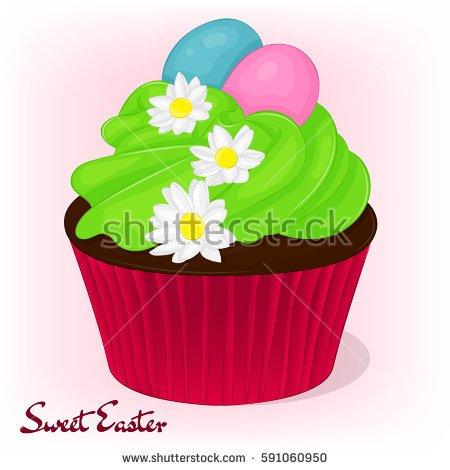 Easter cupcake clipart 2 » Clipart Portal.