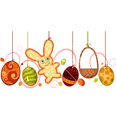 Easter decoration vector by nem4a.
