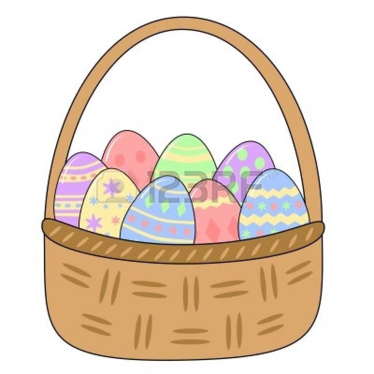 Images of Baskets For Easter Eggs.