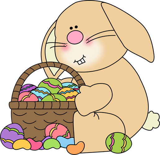 Easter bunnies clip art free.