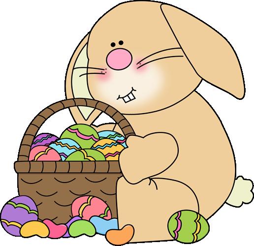 Easter bunnies clip art free.