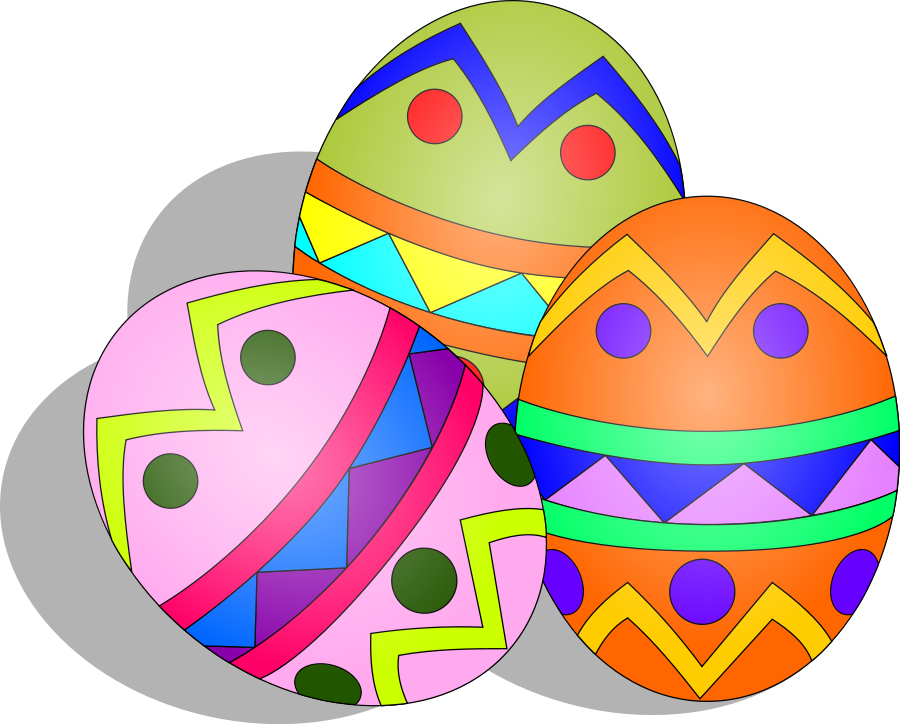 Easter designs clipart.