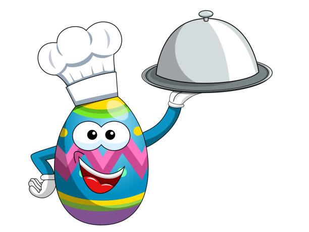 Best Easter Dinner Illustrations, Royalty.