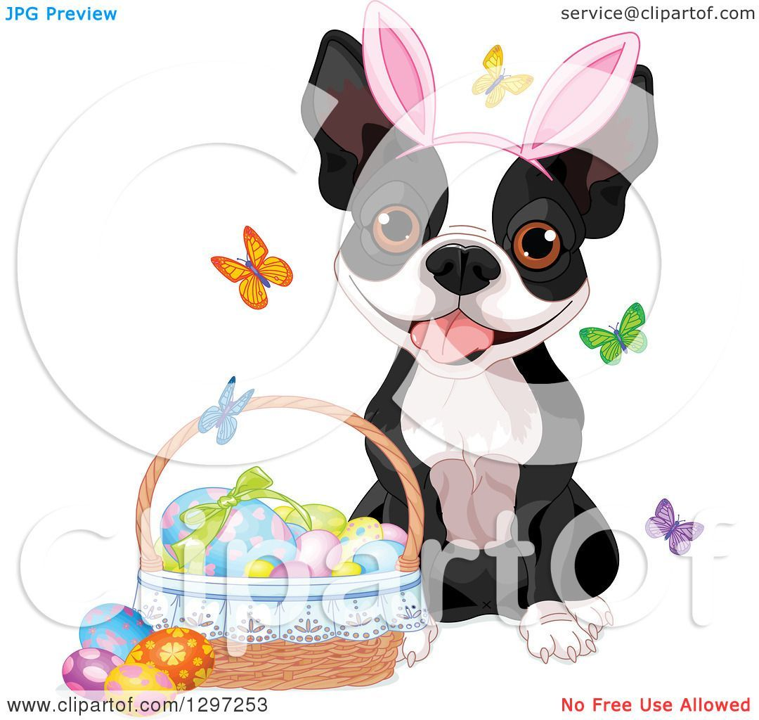 Easter dog clipart 3 » Clipart Portal.