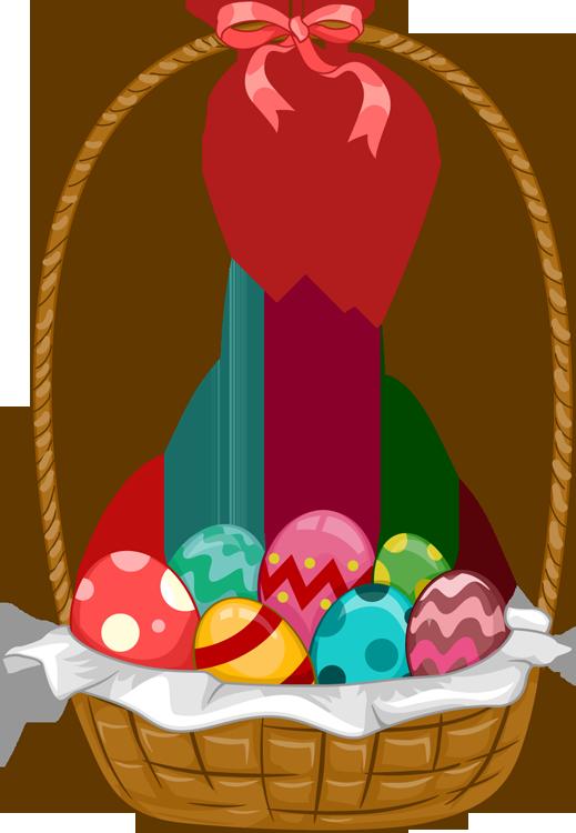 Easter Basket Clip Art & Easter Basket Clip Art Clip Art Images.