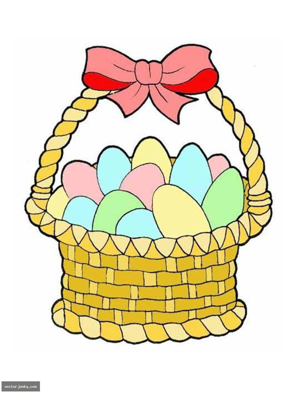 Showing post & media for Cartoon easter egg basket.