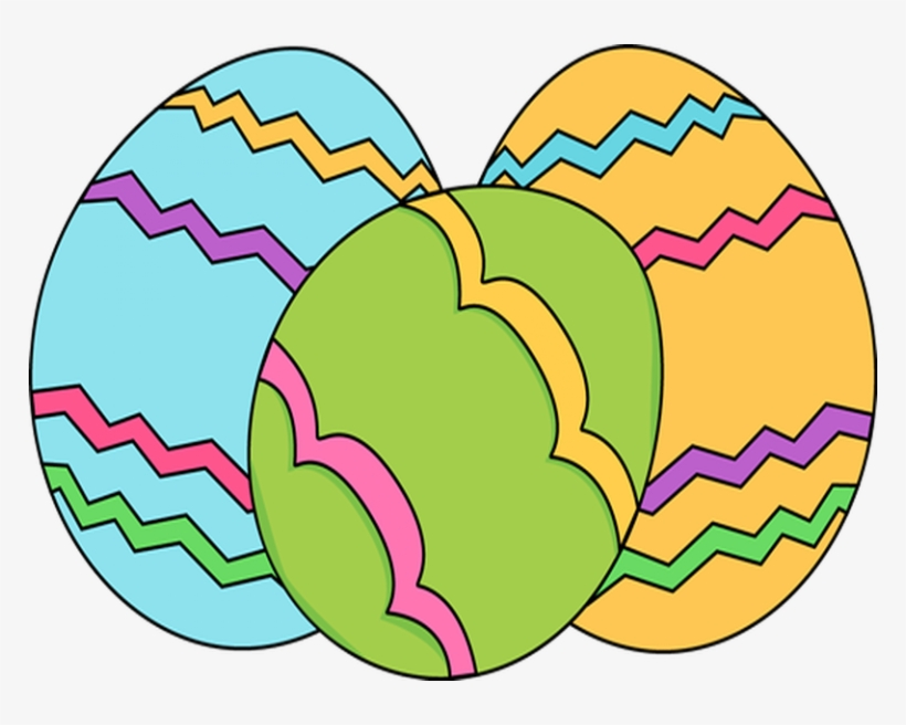 Simple Clipart Easter Egg.
