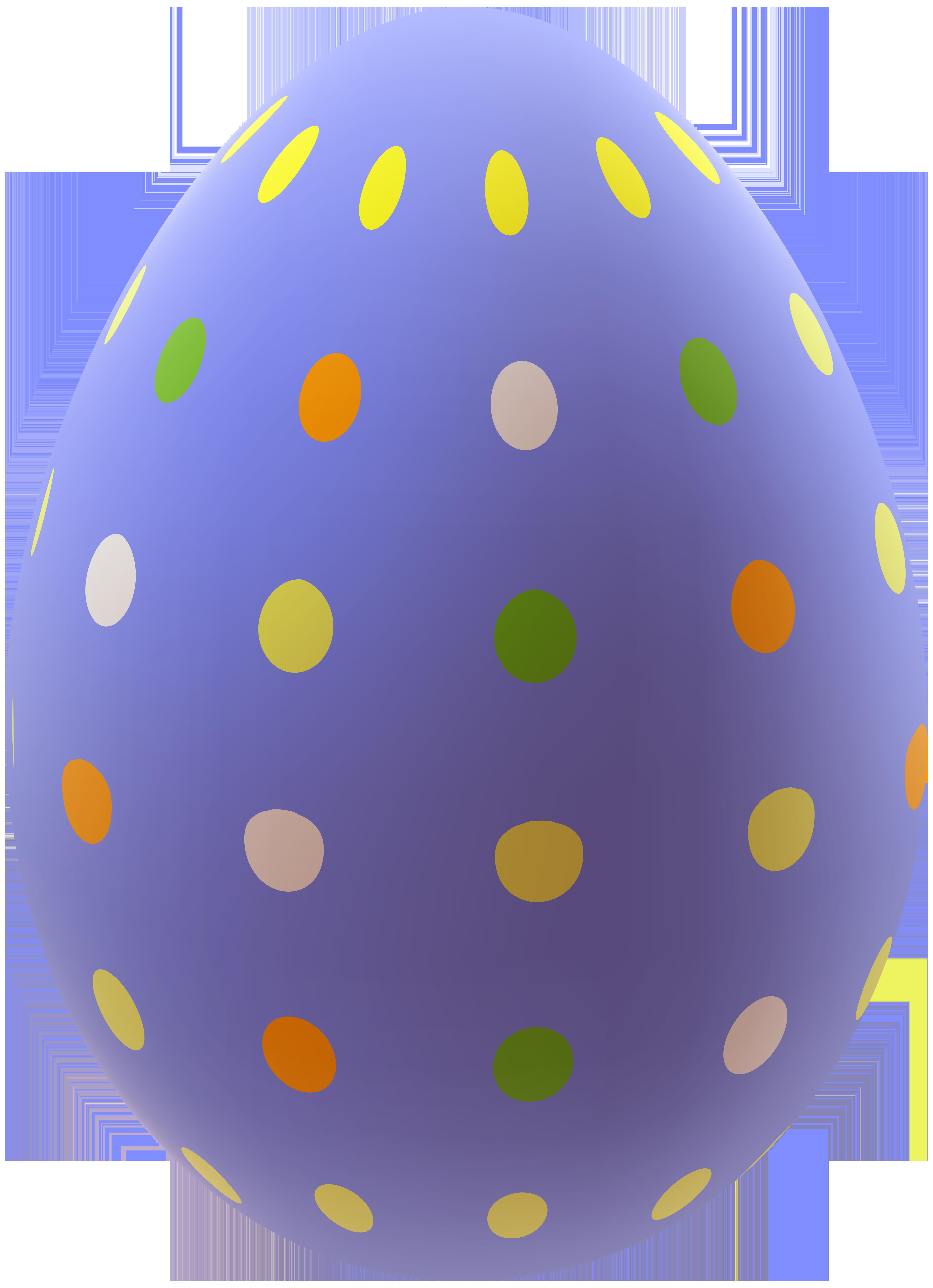 Easter Egg PNG Clip Art Image.