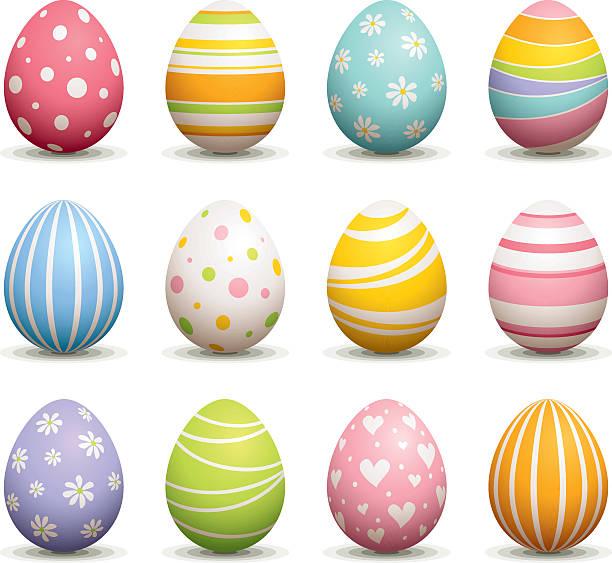 Best Easter Eggs Illustrations, Royalty.