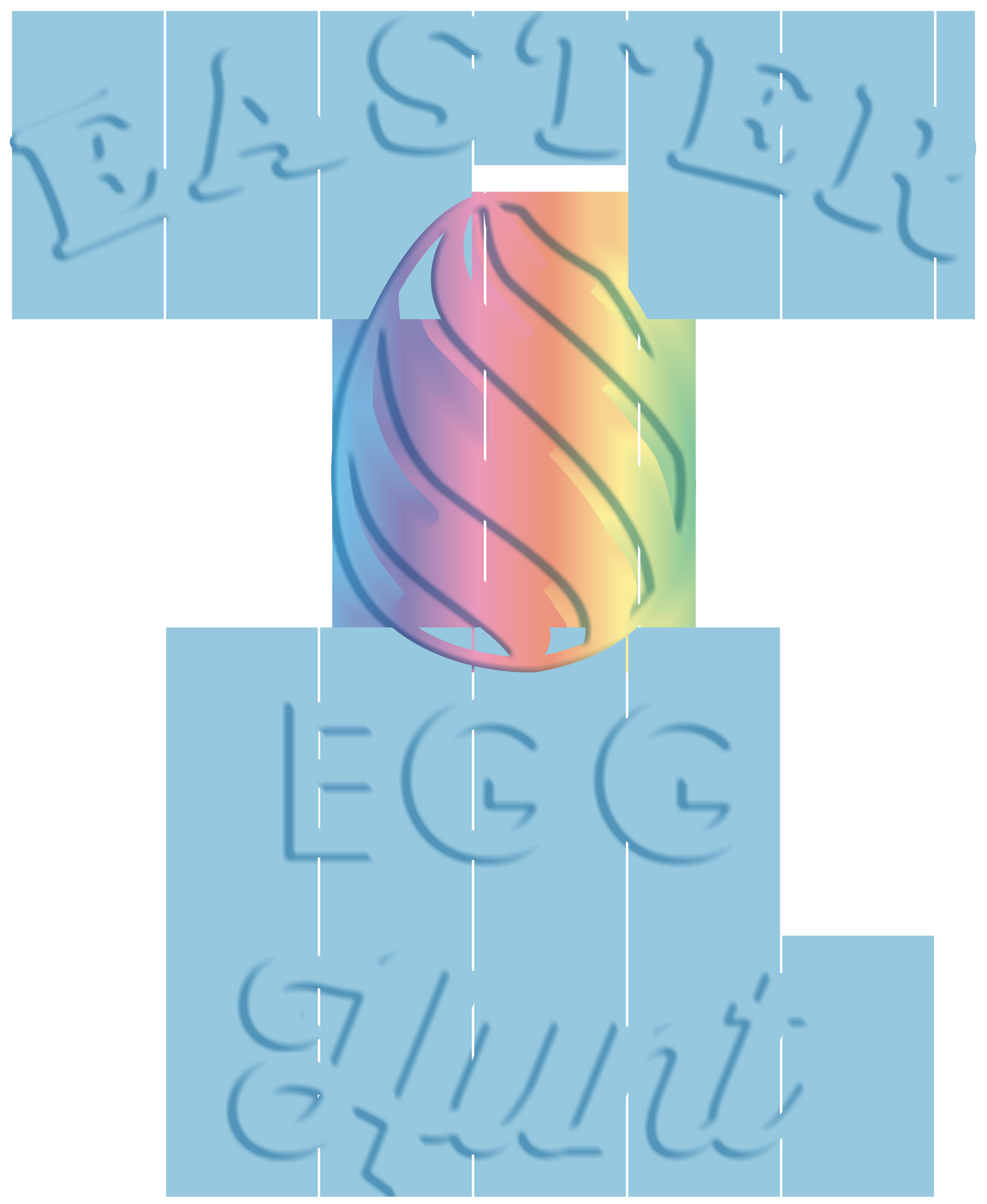 Easter Egg Hunt Clip Art PNG Image.