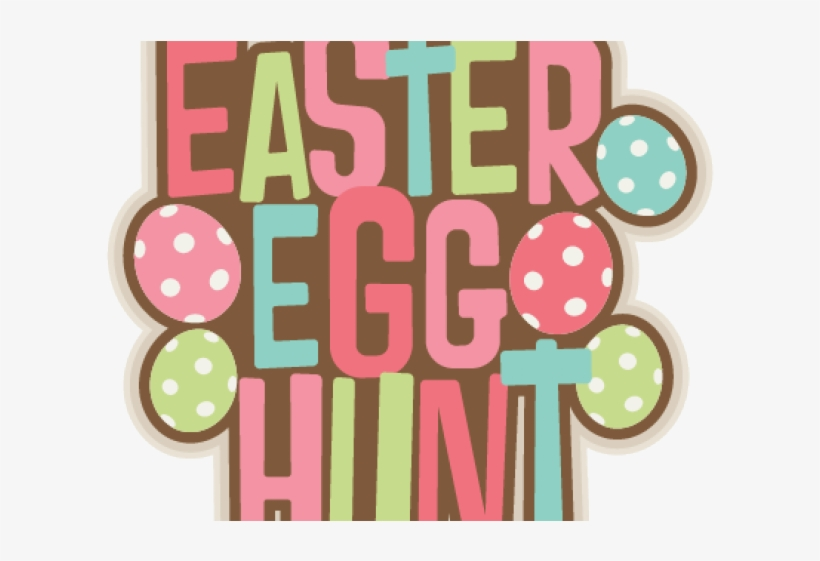 Easter Egg Hunt Clipart Transparent PNG.