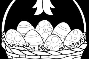 Easter egg hunt clipart black and white » Clipart Station.