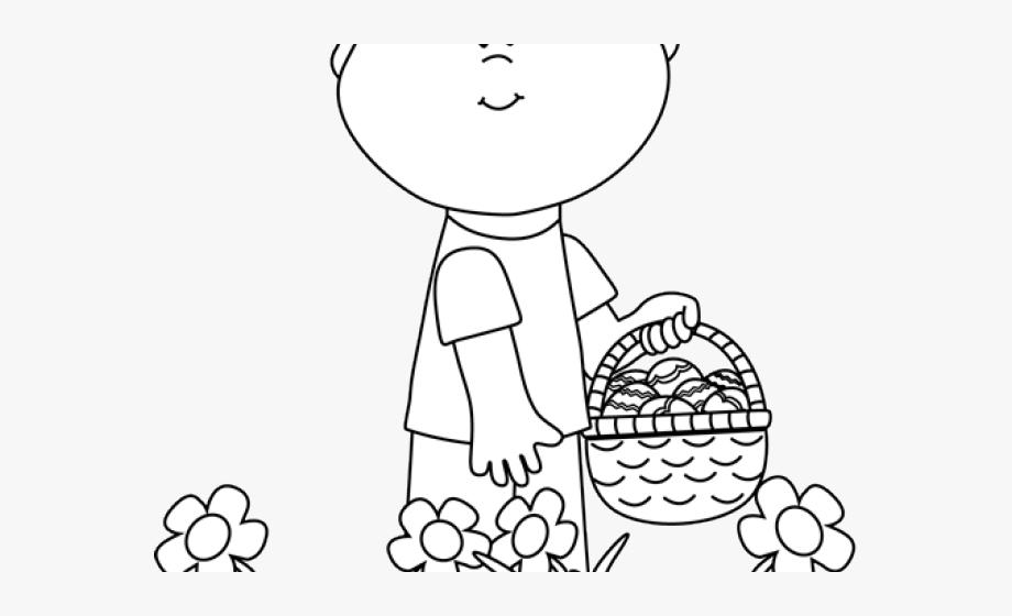 Easter Clipart Egg Hunt.