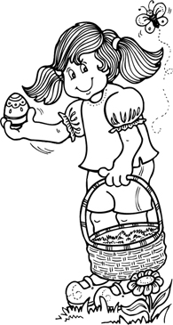 Easter Egg Hunt Clipart Black And White (103+ images in Collection.